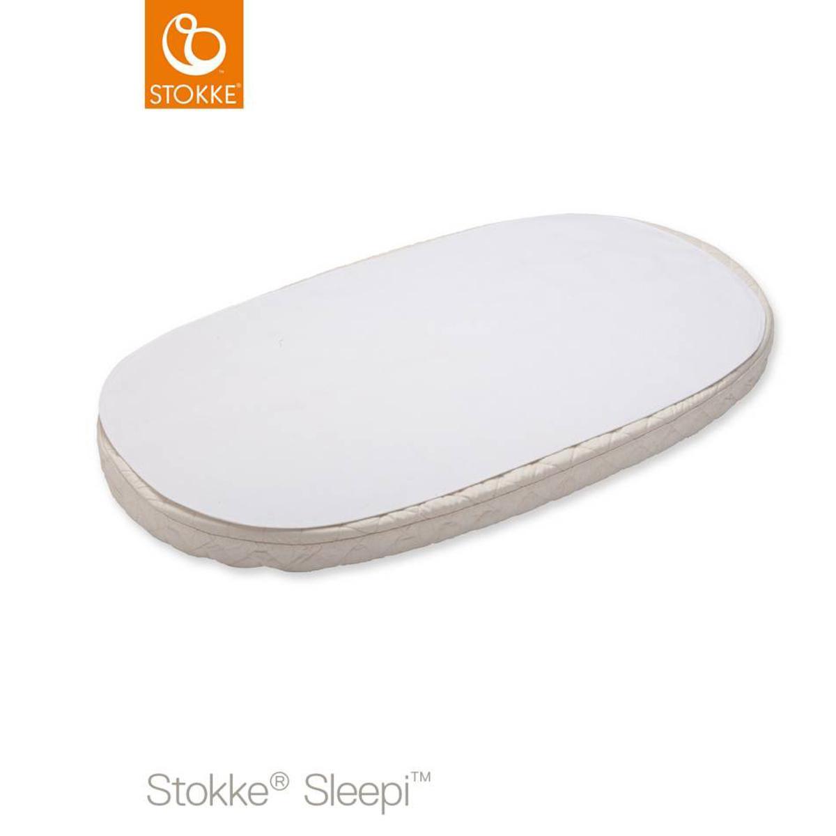 Protector colchón-sábana impermeable oval 120cm SLEEPI Stokke
