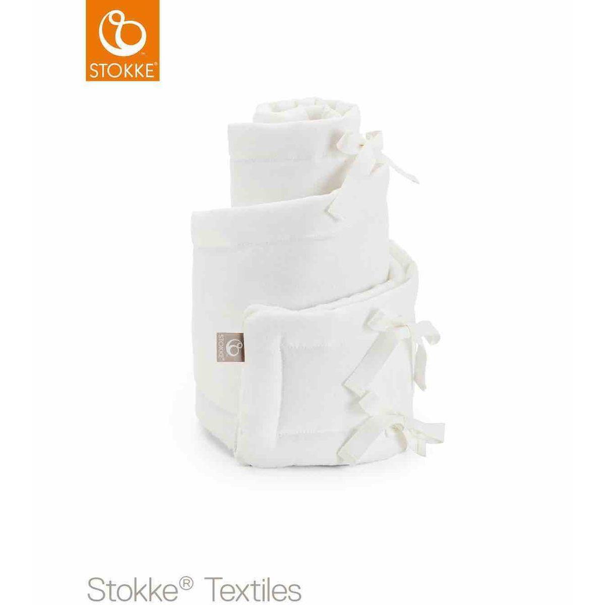 Protector cuna mini SLEEPI Stokke blanco