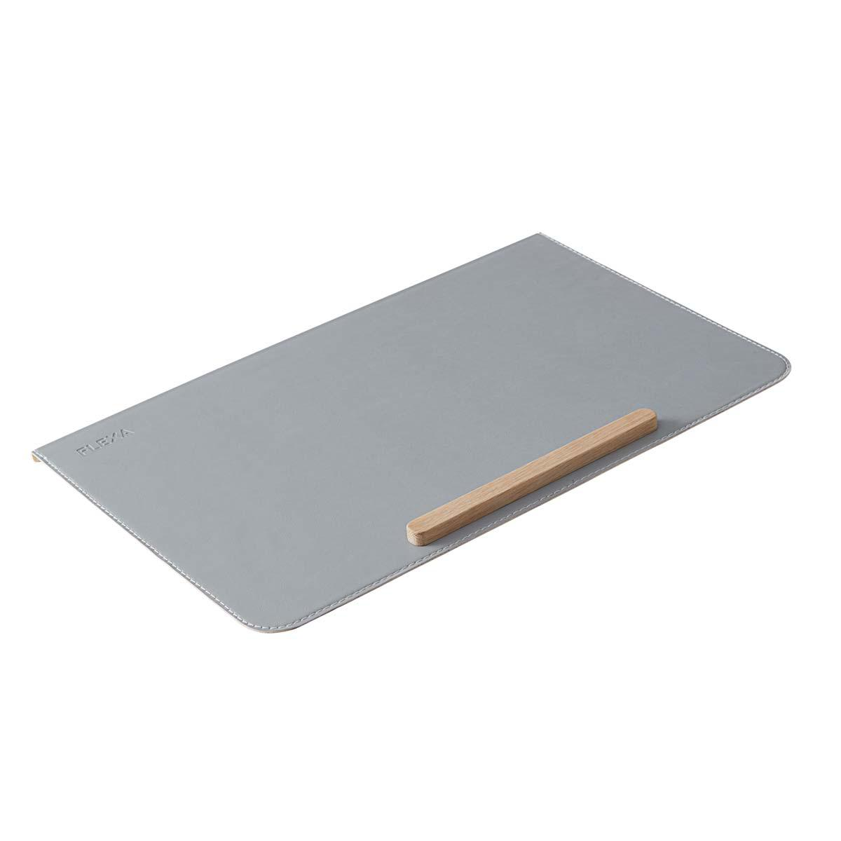 Protector escritorio EVO-MOBY-WOODY Flexa gris