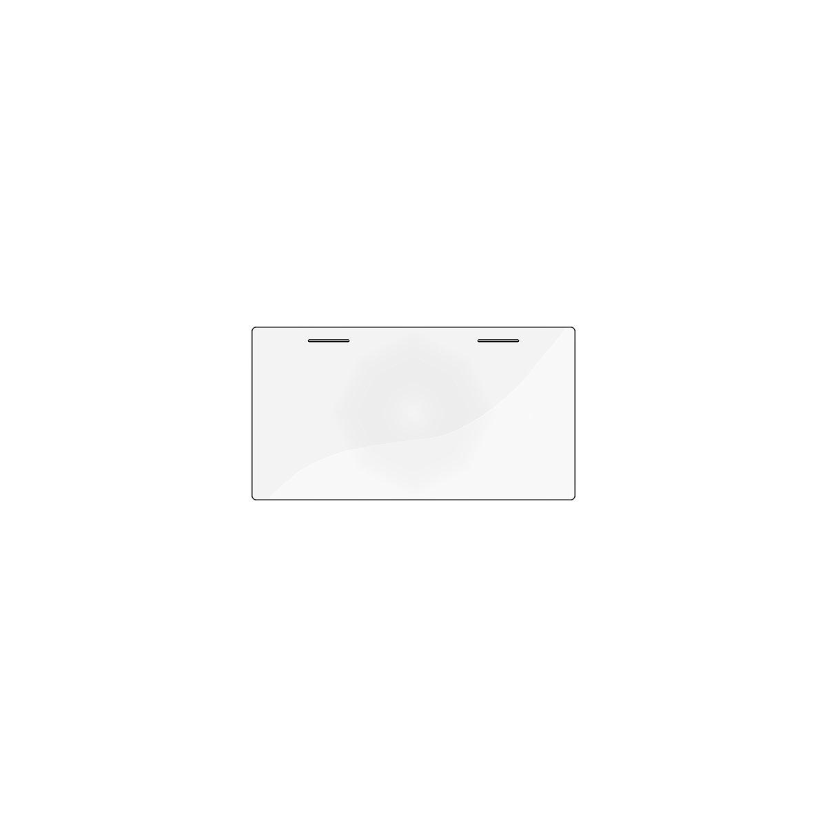 Protector Escritorio tablero inclinable CLASSIC Flexa transparente