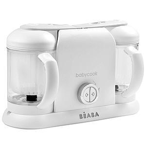 Robot cocina BABYCOOK DUO Béaba blanco-plateado