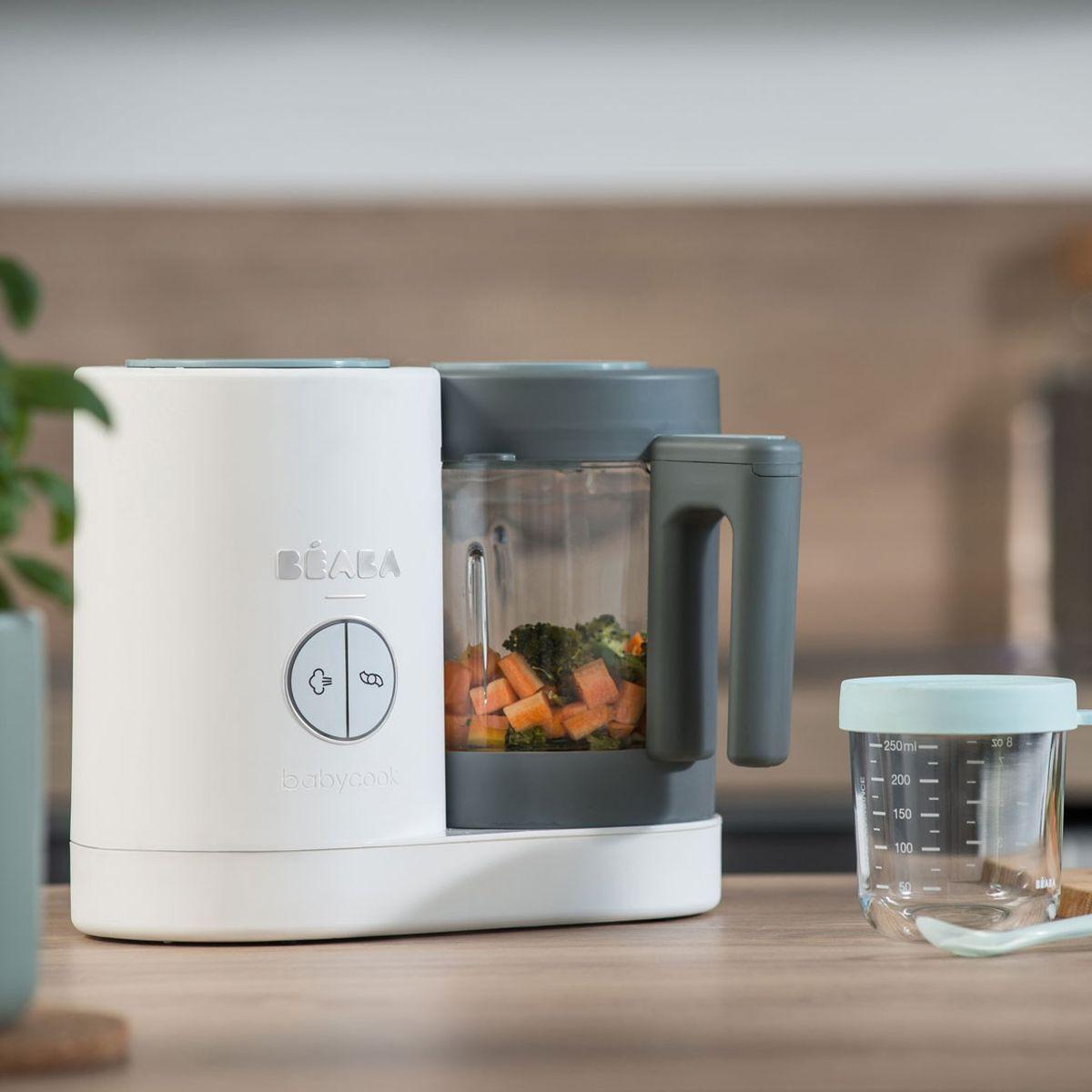 Robot cocina BABYCOOK NEO Béaba gris/blanco