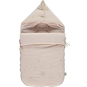 Saco paseo PASSEGIATA ELEMENTS Nobodinoz gold stella-dream pink