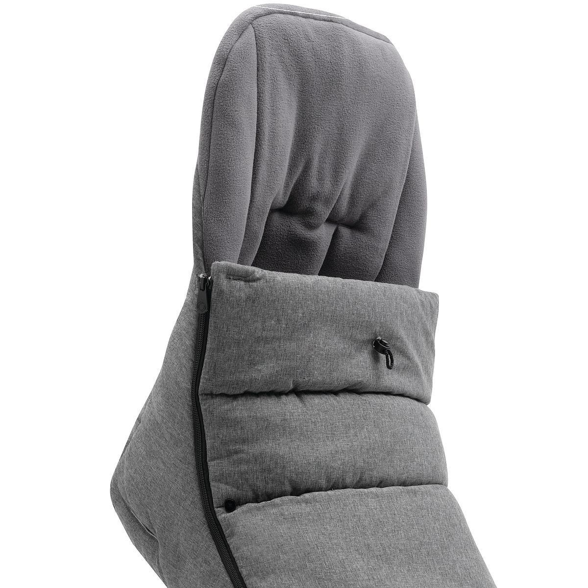 Saco silla bebé BUGABOO gris melange