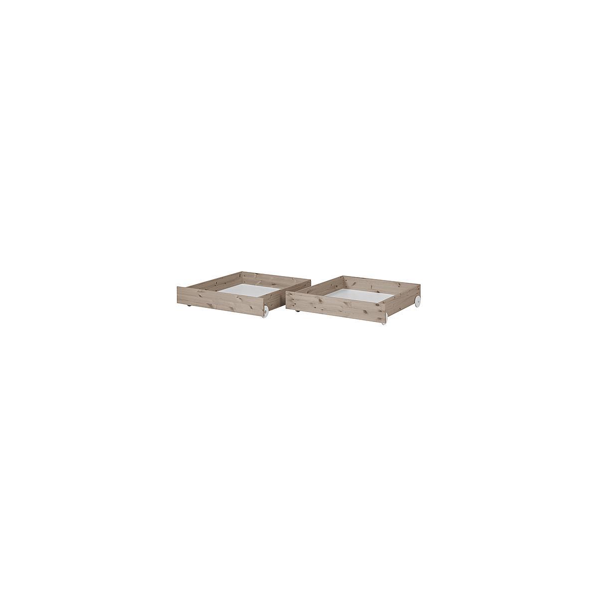 Set 2 cajones bajos Cama 190cm CLASSIC Flexa terra