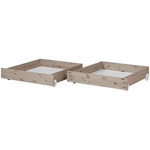 Set 2 cajones bajos Cama 200cm CLASSIC Flexa terra
