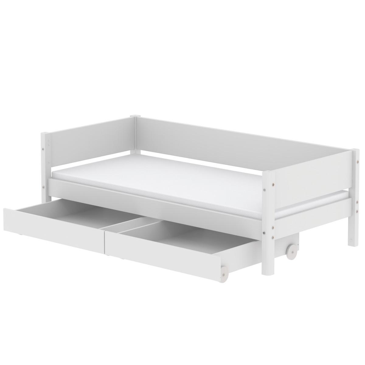 Set de 2 cajones White blanco 190cm