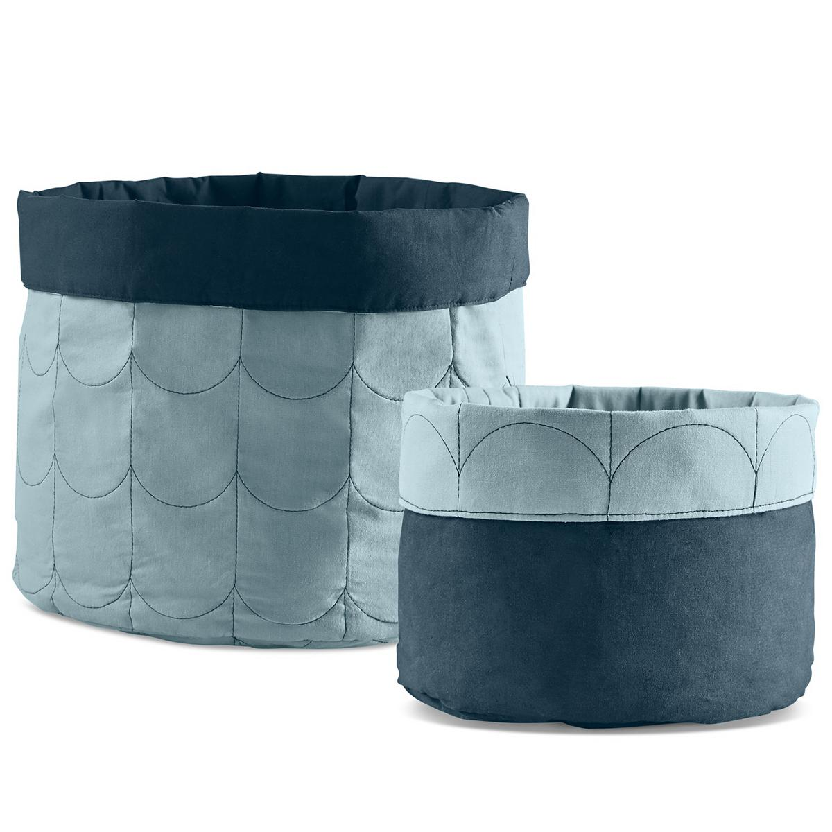 Set saco almacenaje ROOM COLLECTION Flexa light-dark dusty blue