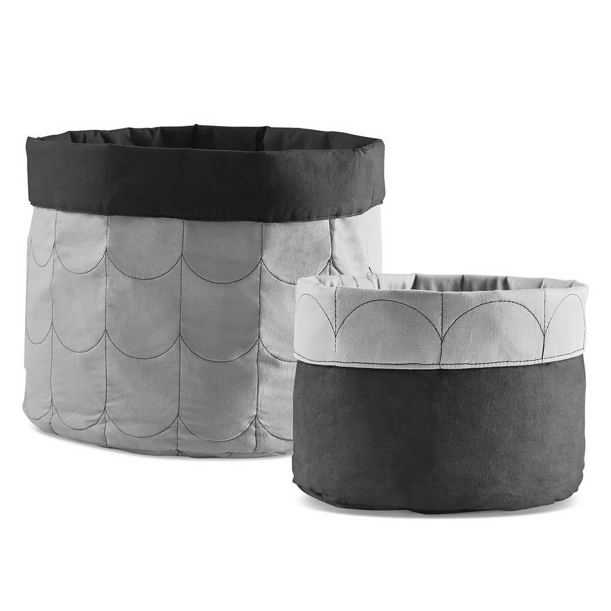 Set saco almacenaje ROOM COLLECTION Flexa light-dark dusty grey