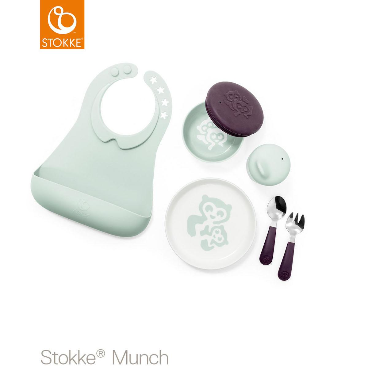 Set vajilla completo MUNCH Stokke mint