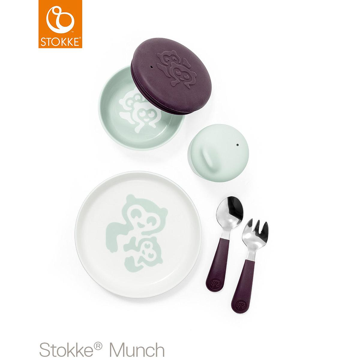 Set vajilla everyday MUNCH Stokke mint