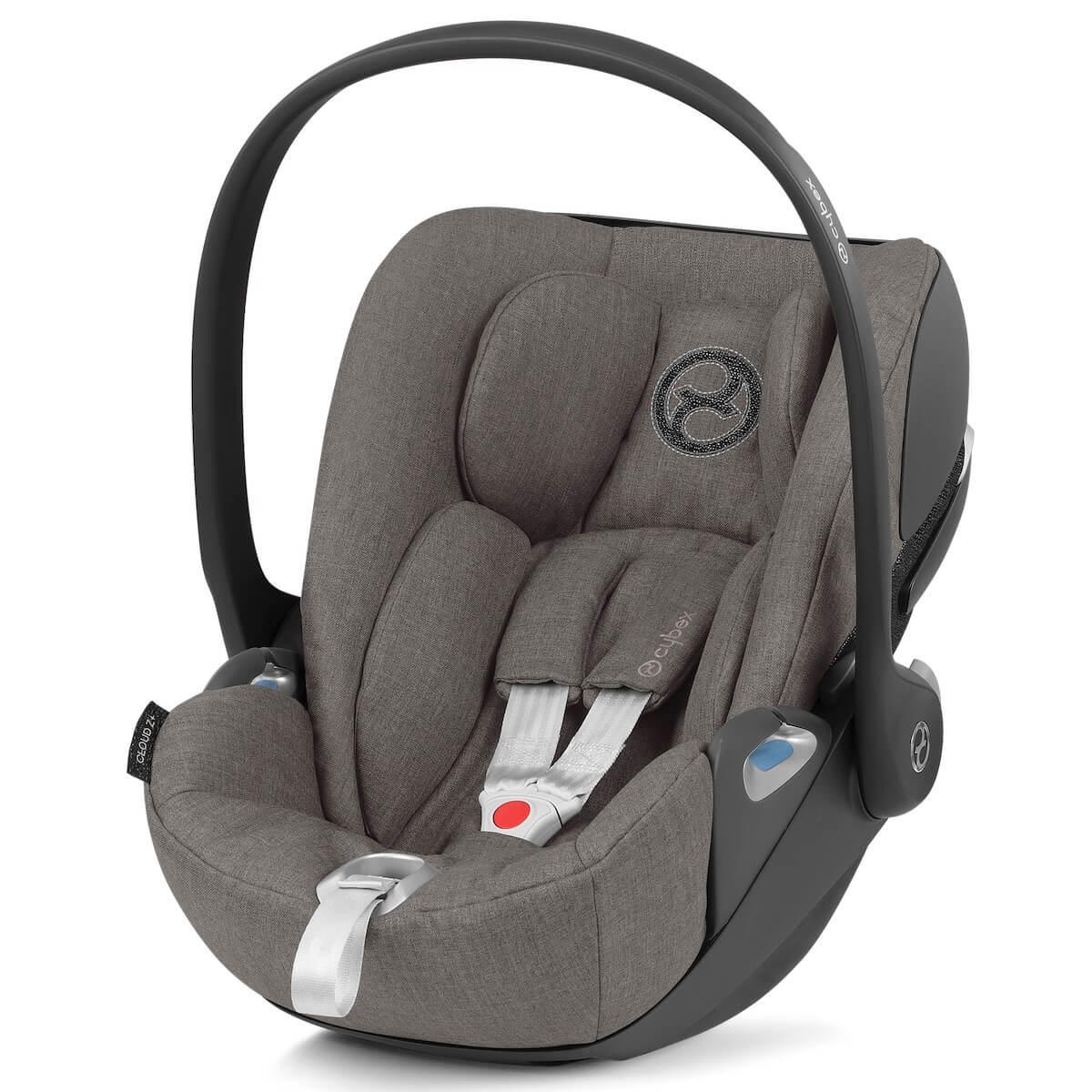 Silla auto 0+ CLOUD Z I-SIZE PLUS Cybex Soho grey-mid grey