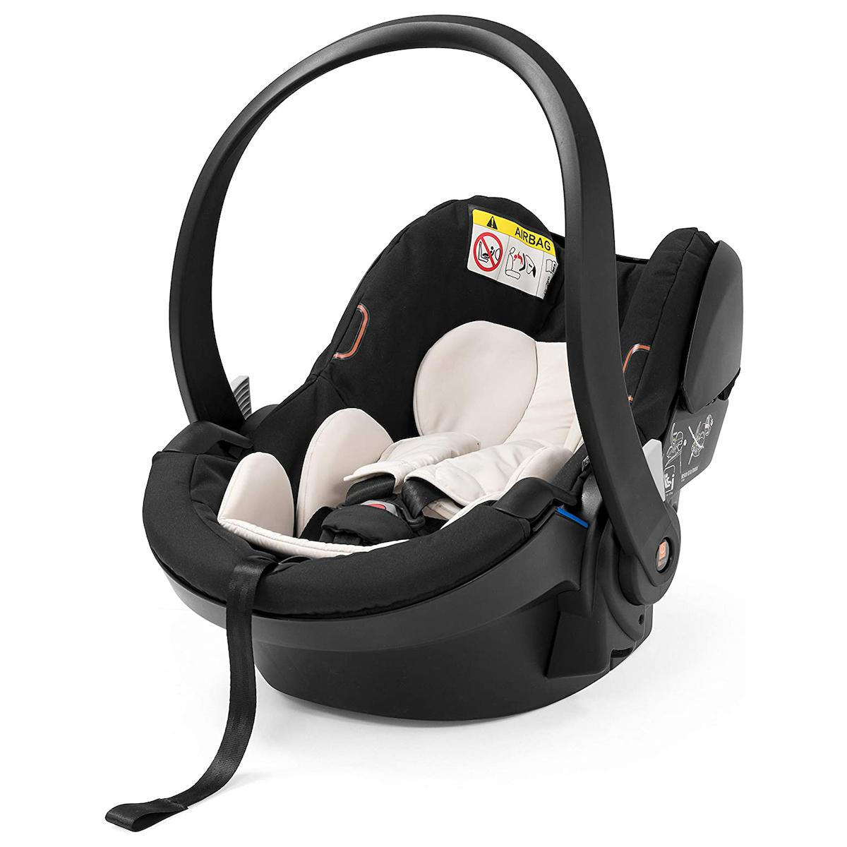 Silla auto bebé X1 capota-visera grupo 0 IZI GO Modular Stokke by BeSafe negro
