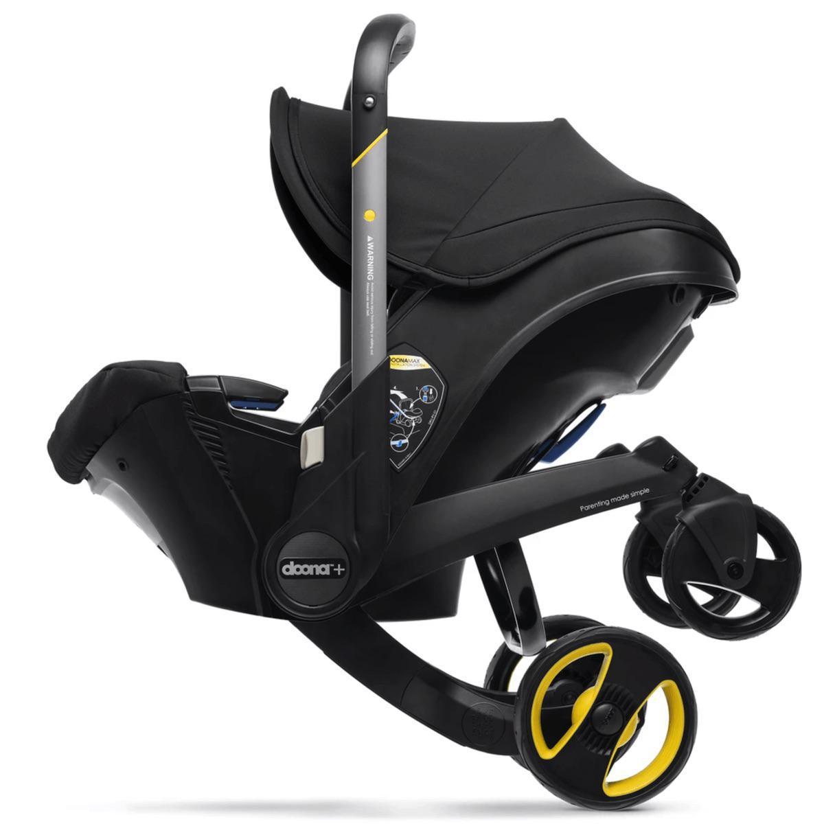 Silla auto-carrito PLUS Doona Nitro black