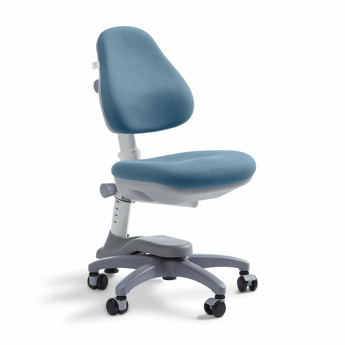 Silla de oficina infantil 7-12Y STUDY NOVO Flexa azul claro