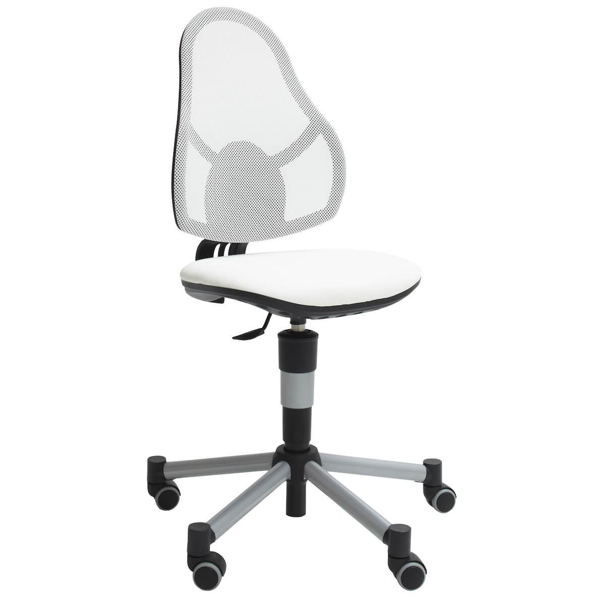 Silla escritorio DE LUXE Lifetime blanco