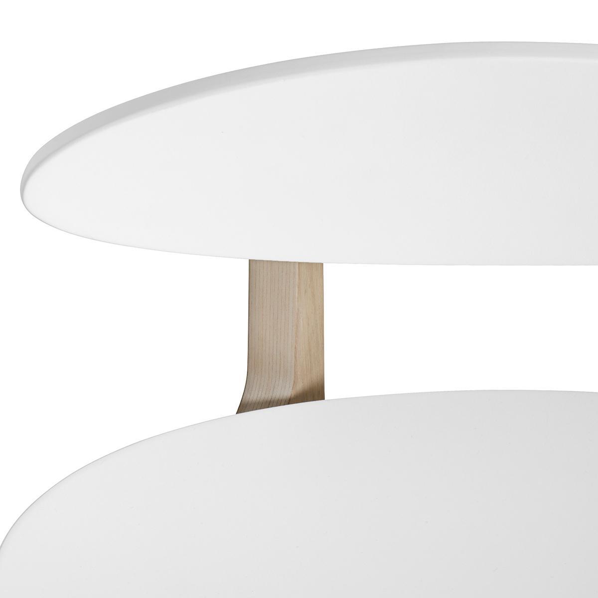 Silla infantil Pingpong WOOD Oliver Furniture blanco-roble