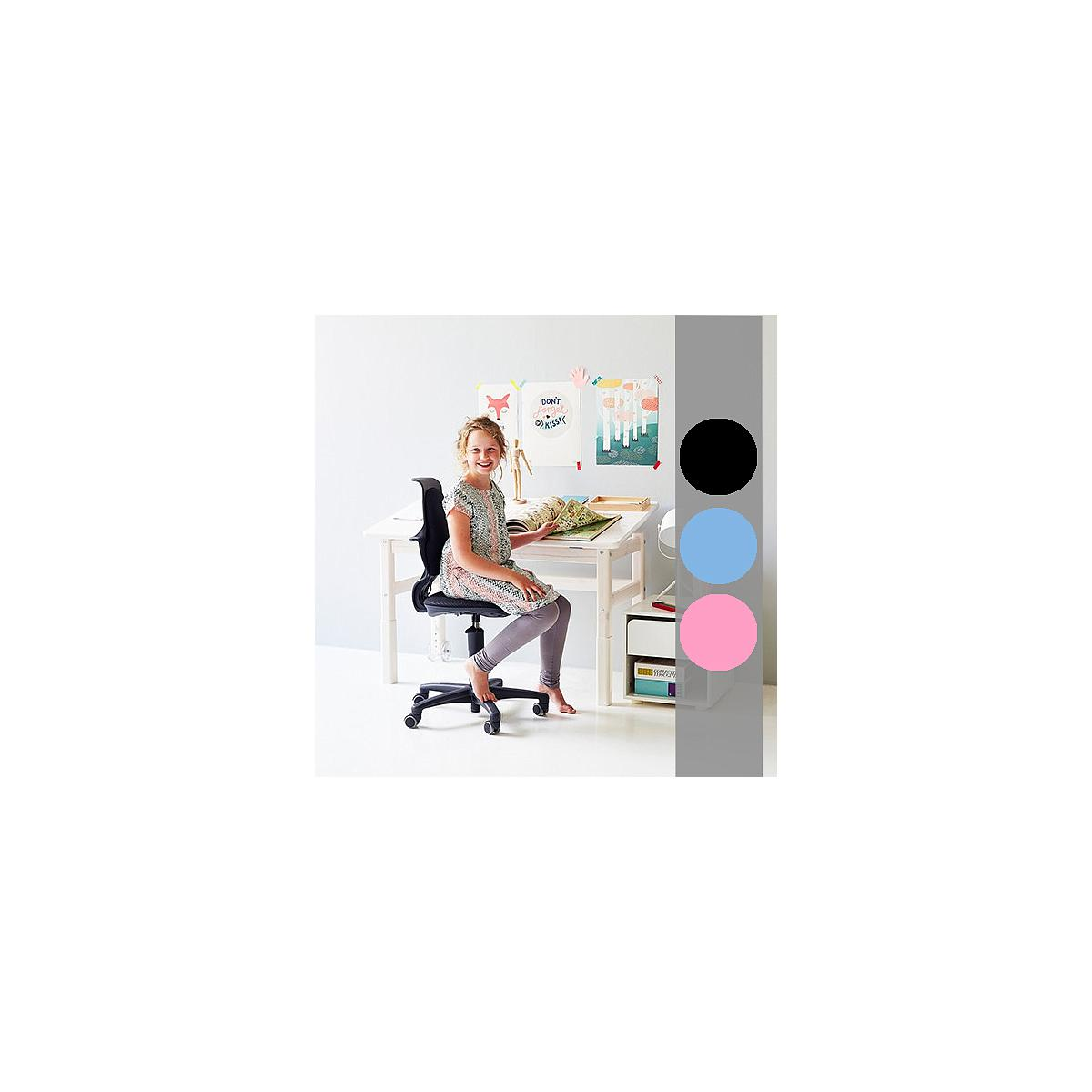Silla oficina ergonómica STUDY Flexa negra