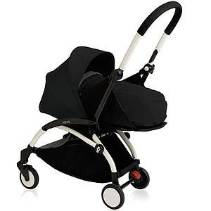 Silla paseo bebé-infantil YOYO+ 0+ a 6+ Babyzen blanco-negro