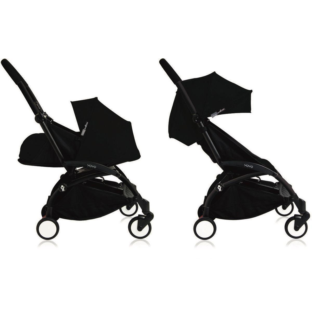 Silla paseo bebé-infantil YOYO+ 0+ a 6+ Babyzen negro