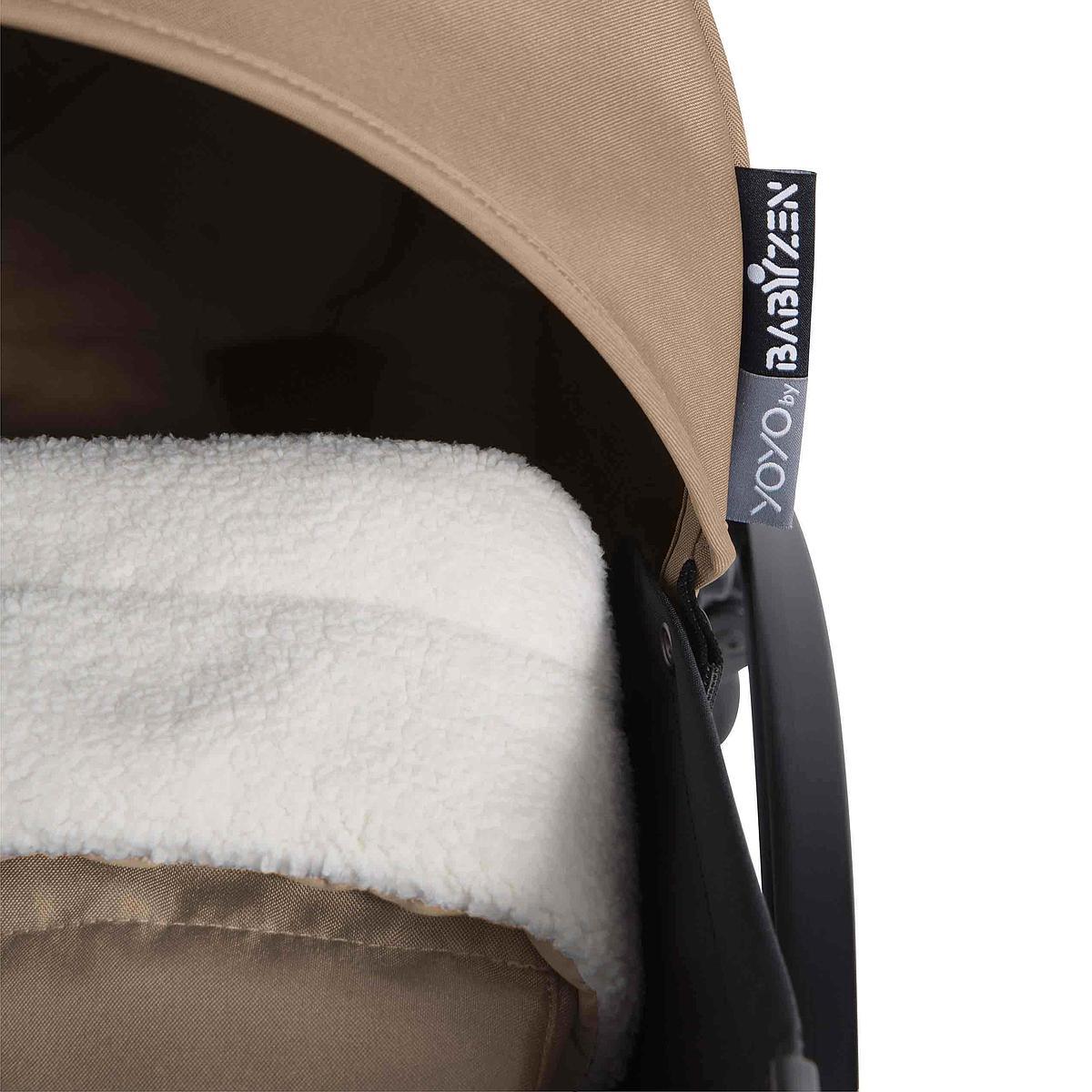 Silla paseo bebé YOYO+ 0+ Babyzen negro-taupe