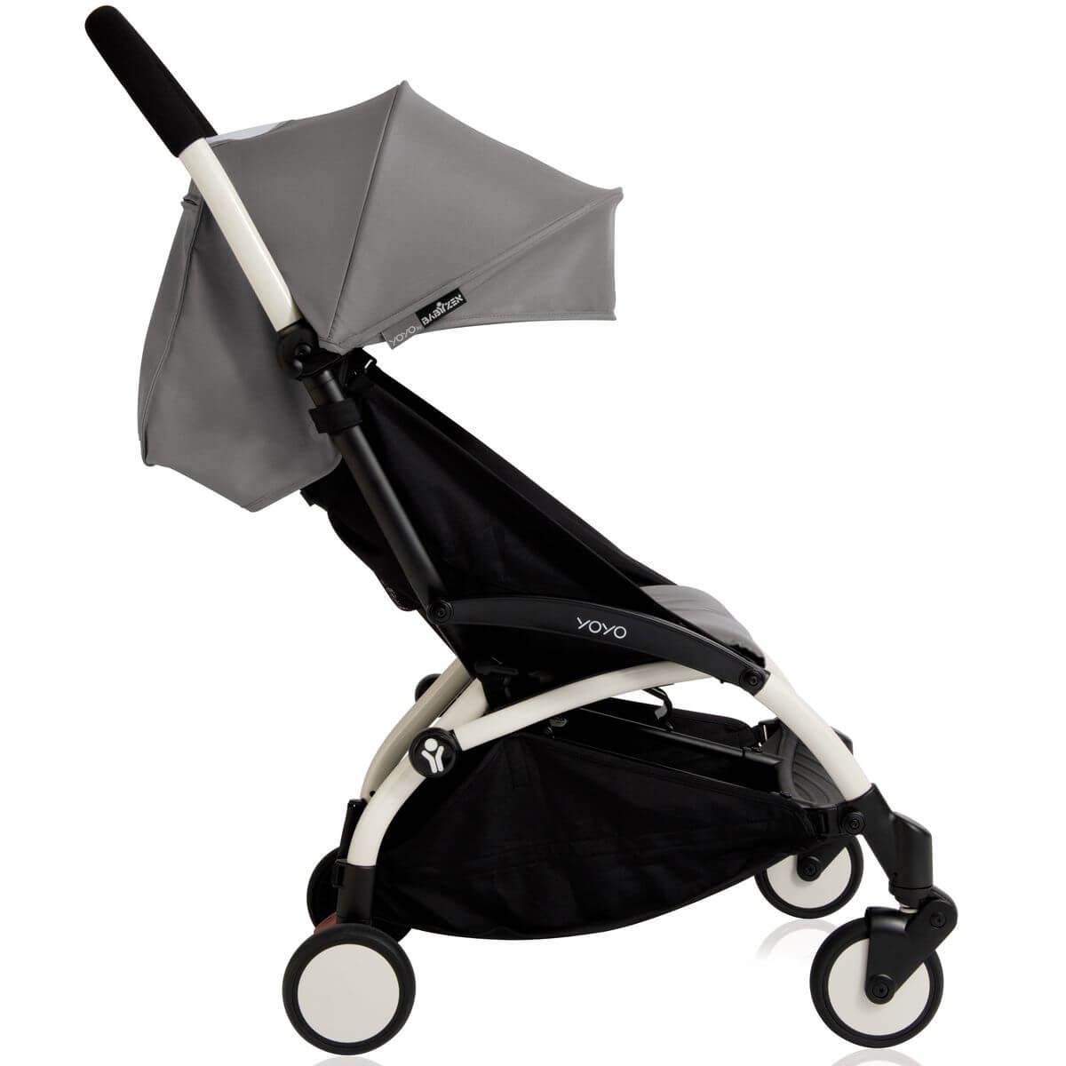 Silla paseo bebé YOYO+ 6+ Babyzen blanco-gris