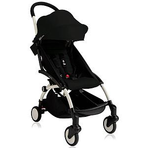 Silla paseo bebé YOYO+ 6+ Babyzen blanco-negro