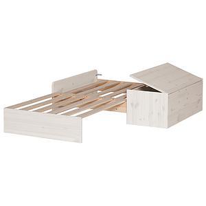 Sofá-cama Cama casa alta CLASSIC Flexa blanco cal