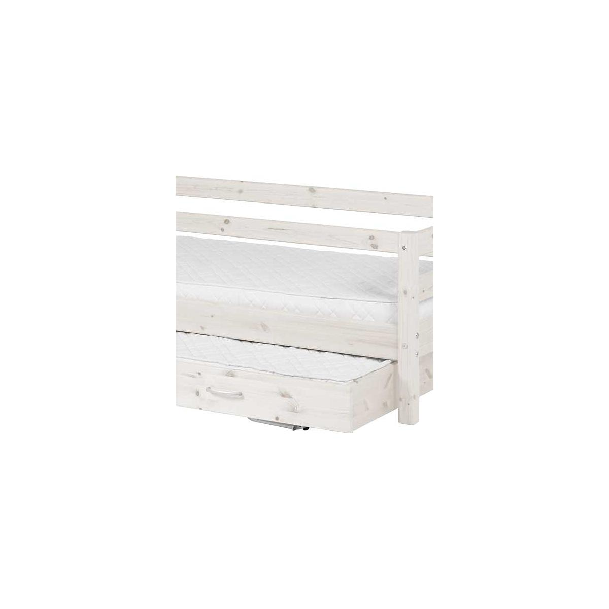 Sofá Cama nido 90x190 CLASSIC Flexa blanco cal