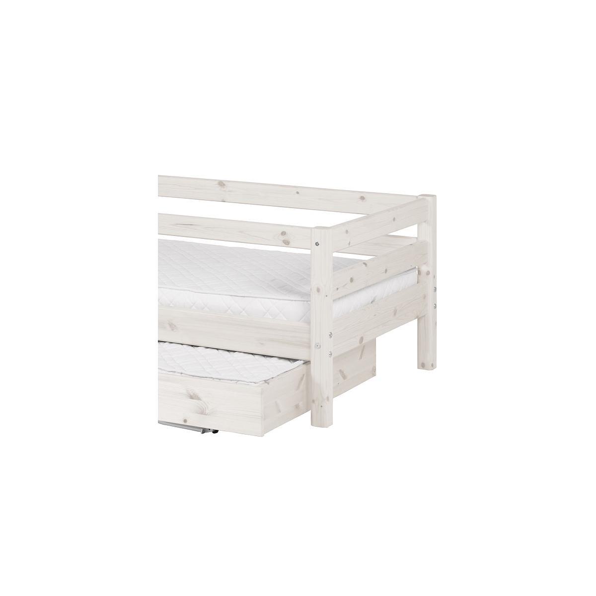 Sofá Cama nido 90x200 CLASSIC Flexa blanco cal