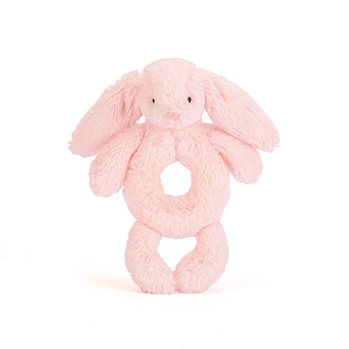 Sonajero Conejo BASHFUL Jellycat rosa