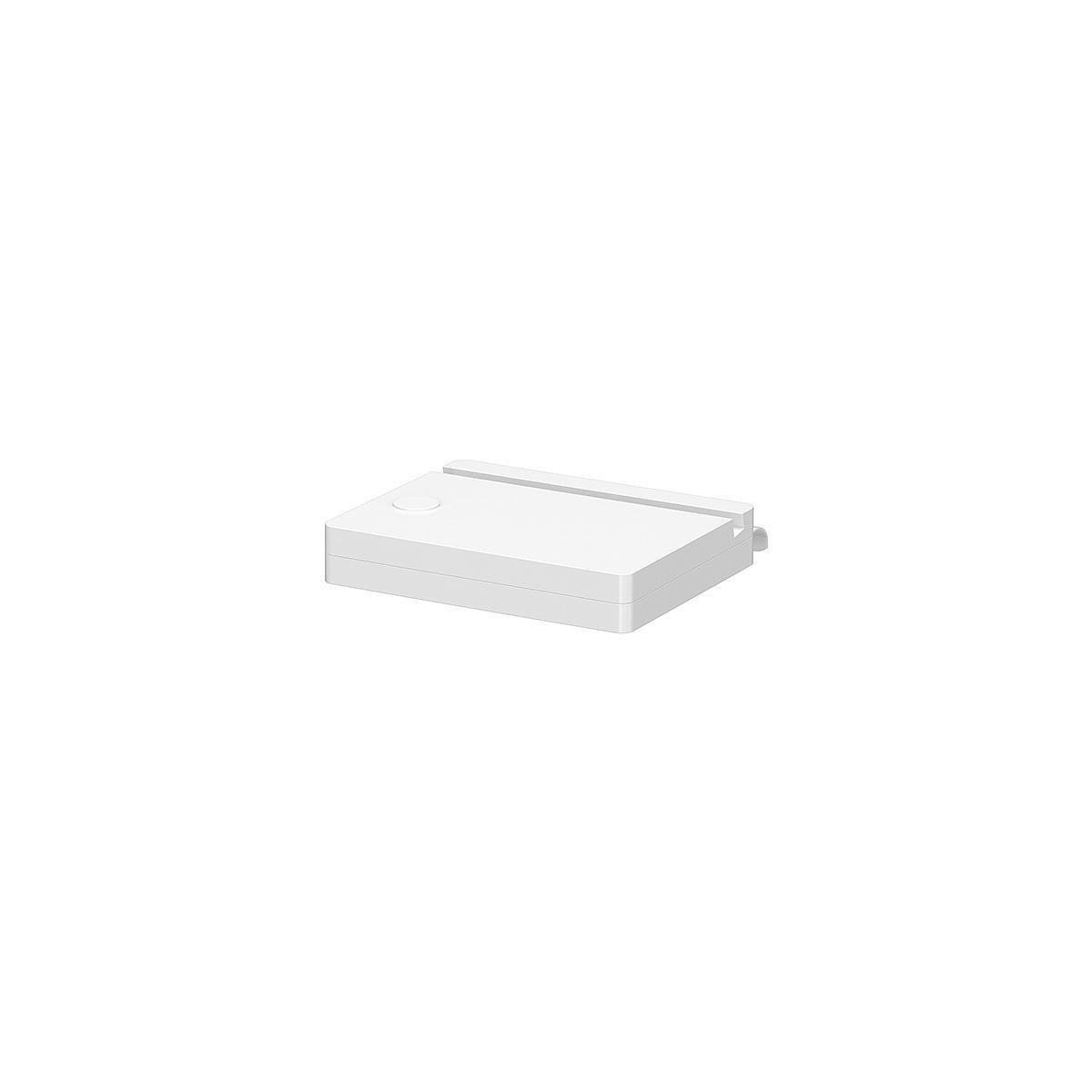 Soporte tablet Camas CLICKON CLASSIC Flexa blanco