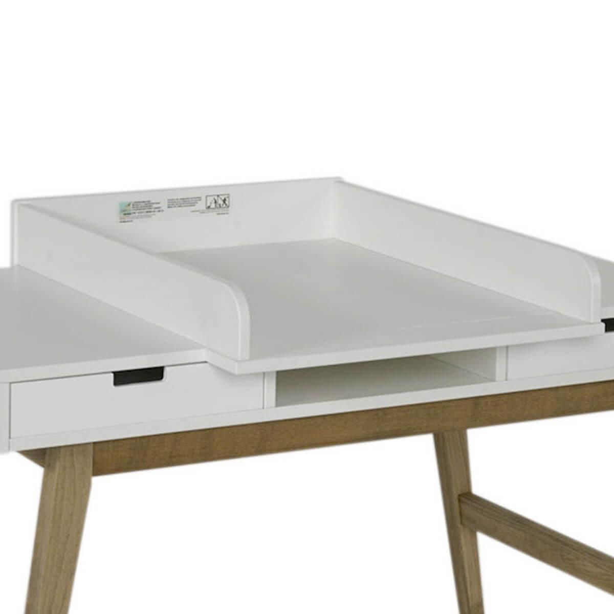 Tabla cambiador escritorio TRENDY Quax blanco