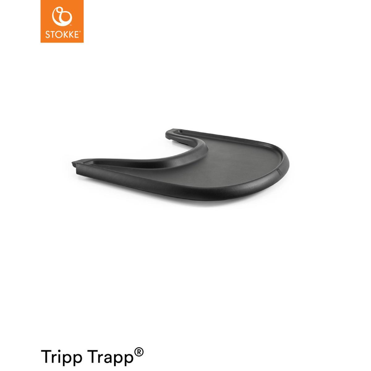 Tableta trona TRAY Stokke negro