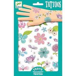 Tatuajes +3Y FLORES CAMPESTRES Djeco