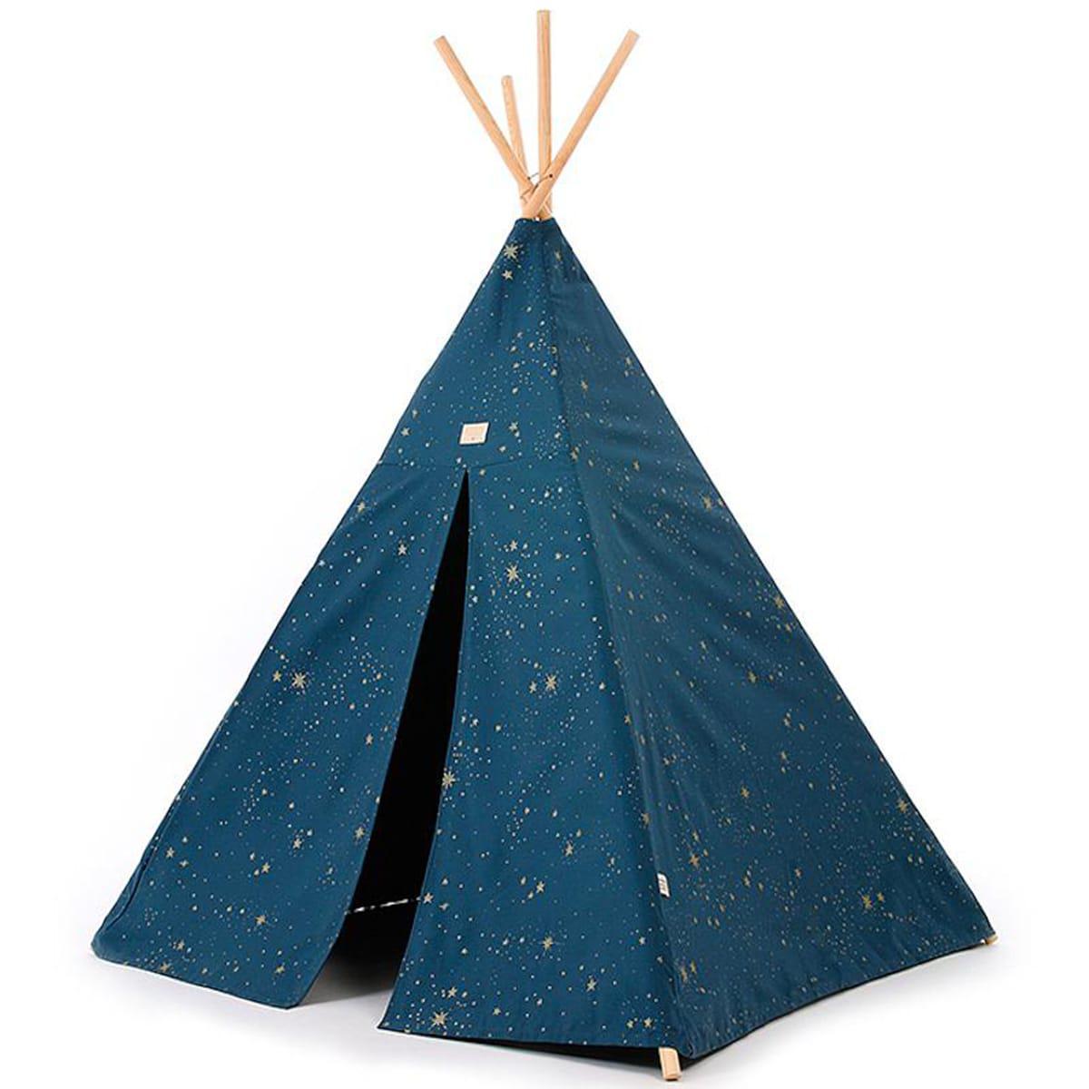 Tipi niños PHOENIX ELEMENTS Nobodinoz gold stella-night blue