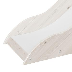 Tobogán Cama media alta CLASSIC Flexa blanco cal