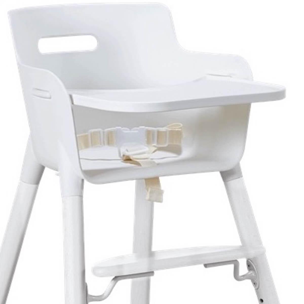 Trona bebé-bandeja BABY Flexa blanco