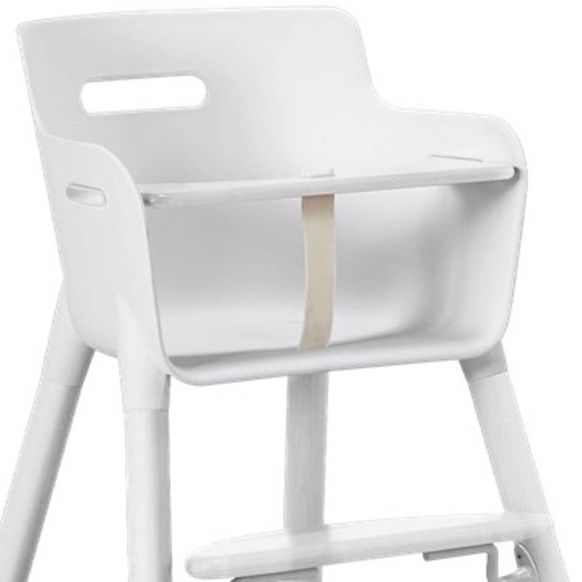 Trona bebé-barra seguridad BABY Flexa blanco