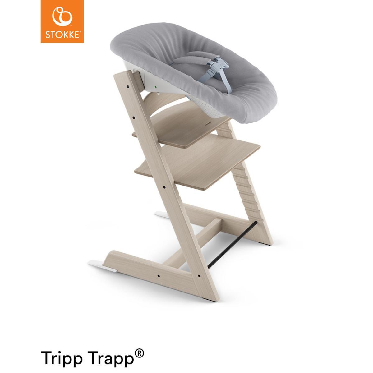 Trona bebé TRIPP TRAPP Stokke blanqueado