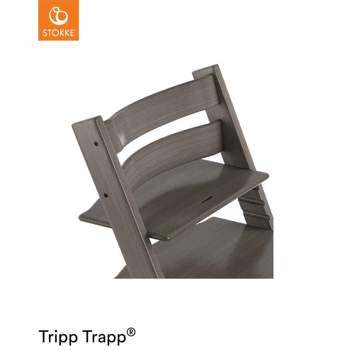 Trona bebé TRIPP TRAPP Stokke gris bruma