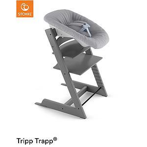 Trona bebé TRIPP TRAPP Stokke gris tormenta