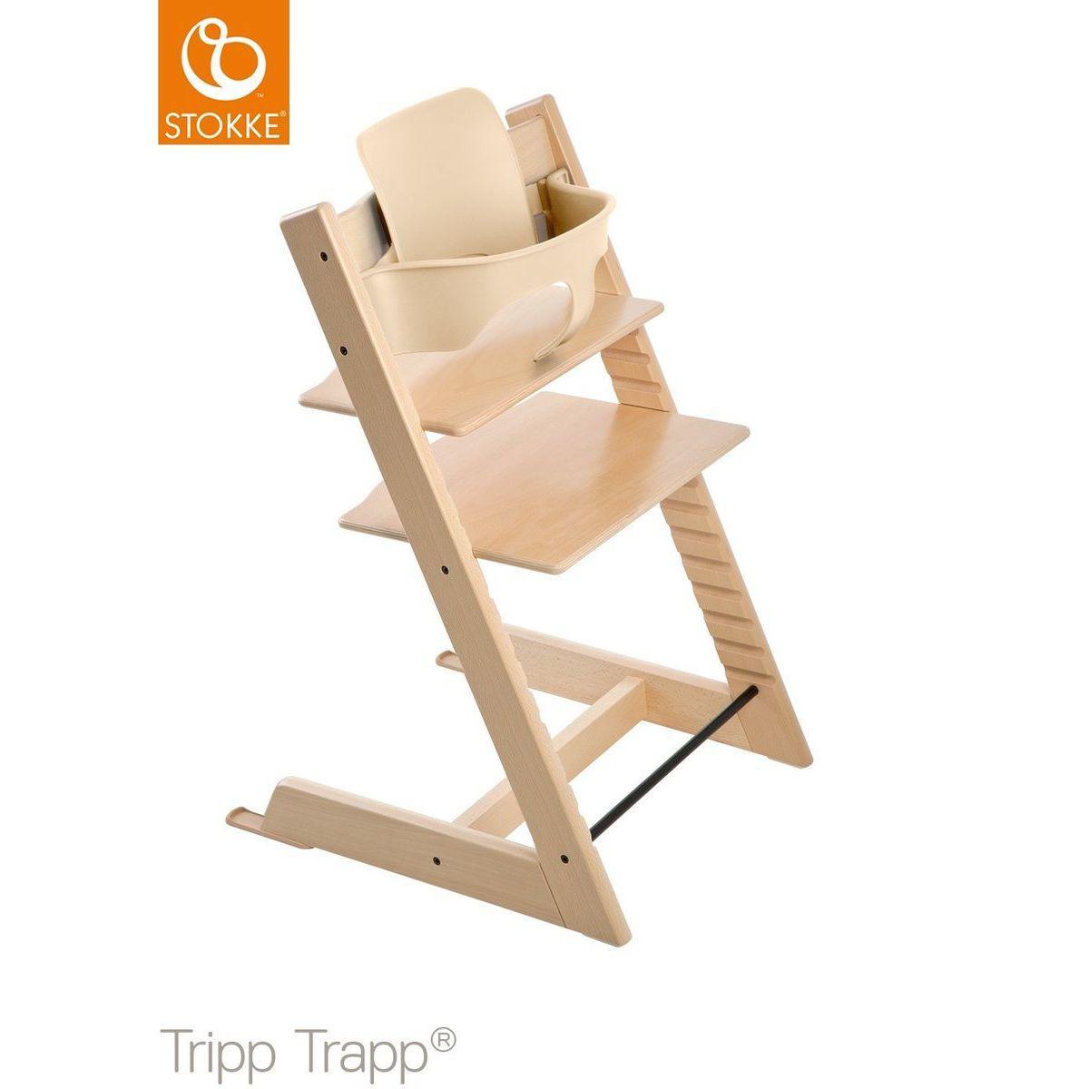 Trona bebé TRIPP TRAPP Stokke natural