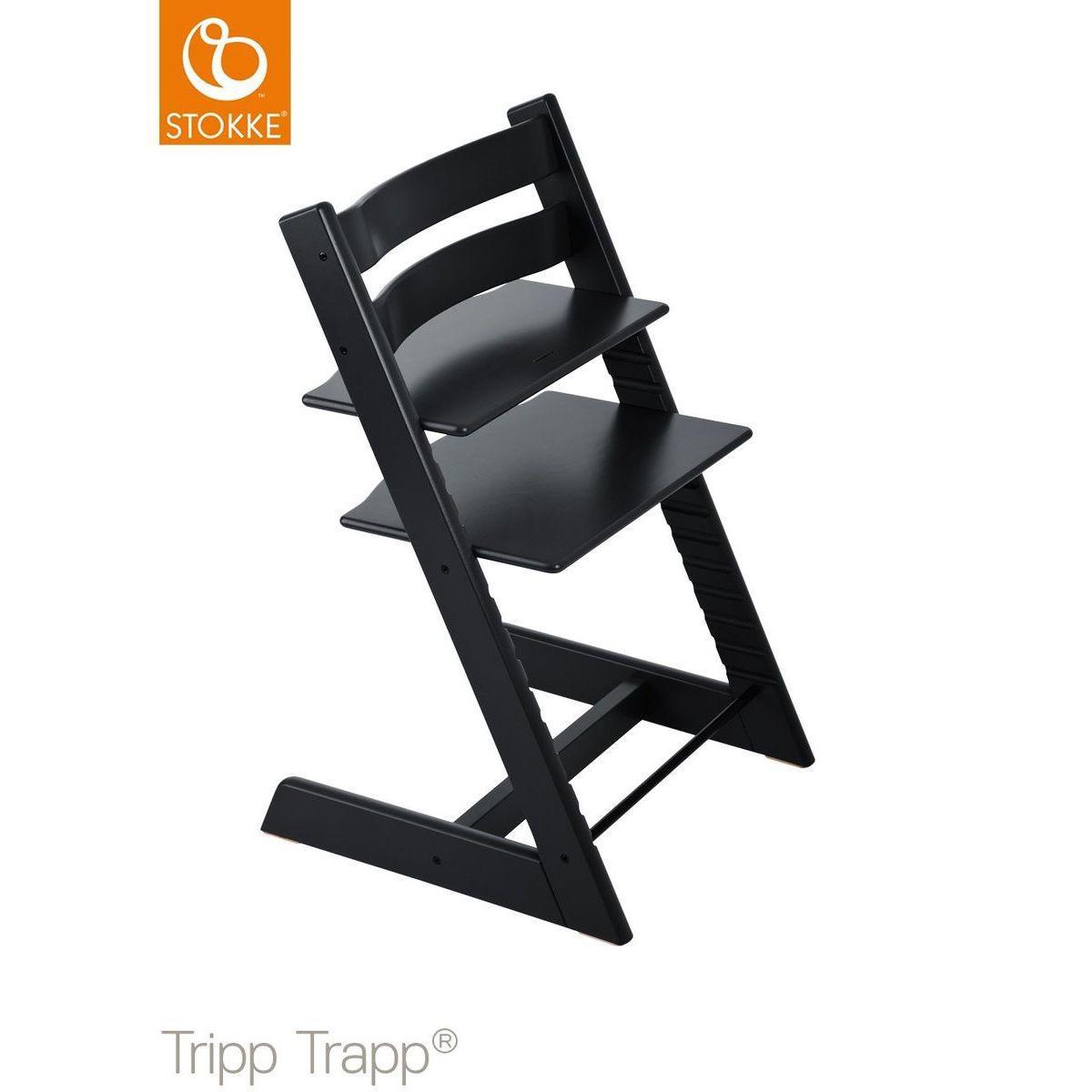 Trona bebé TRIPP TRAPP Stokke negro