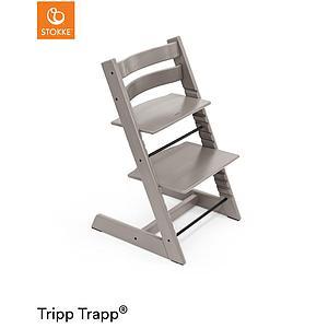 Trona bebé TRIPP TRAPP Stokke roble gris translúcido