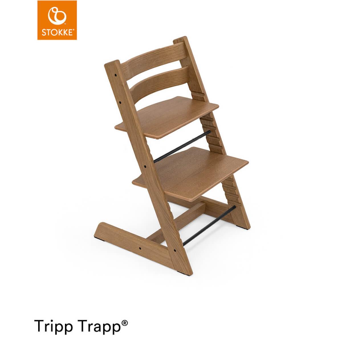 Trona bebé TRIPP TRAPP Stokke roble marrón
