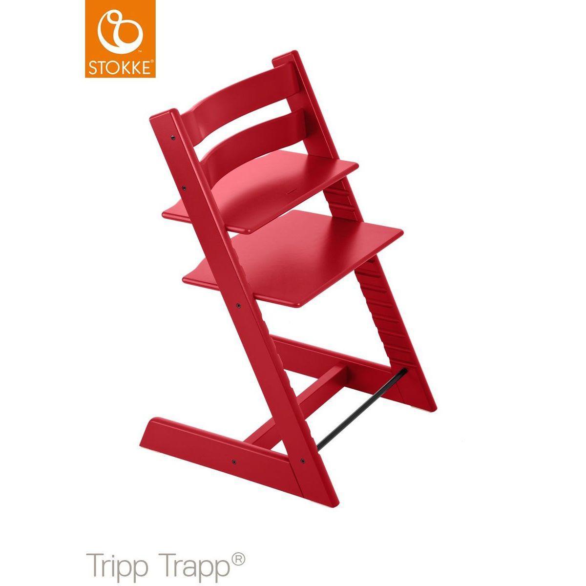 Trona bebé TRIPP TRAPP Stokke rojo