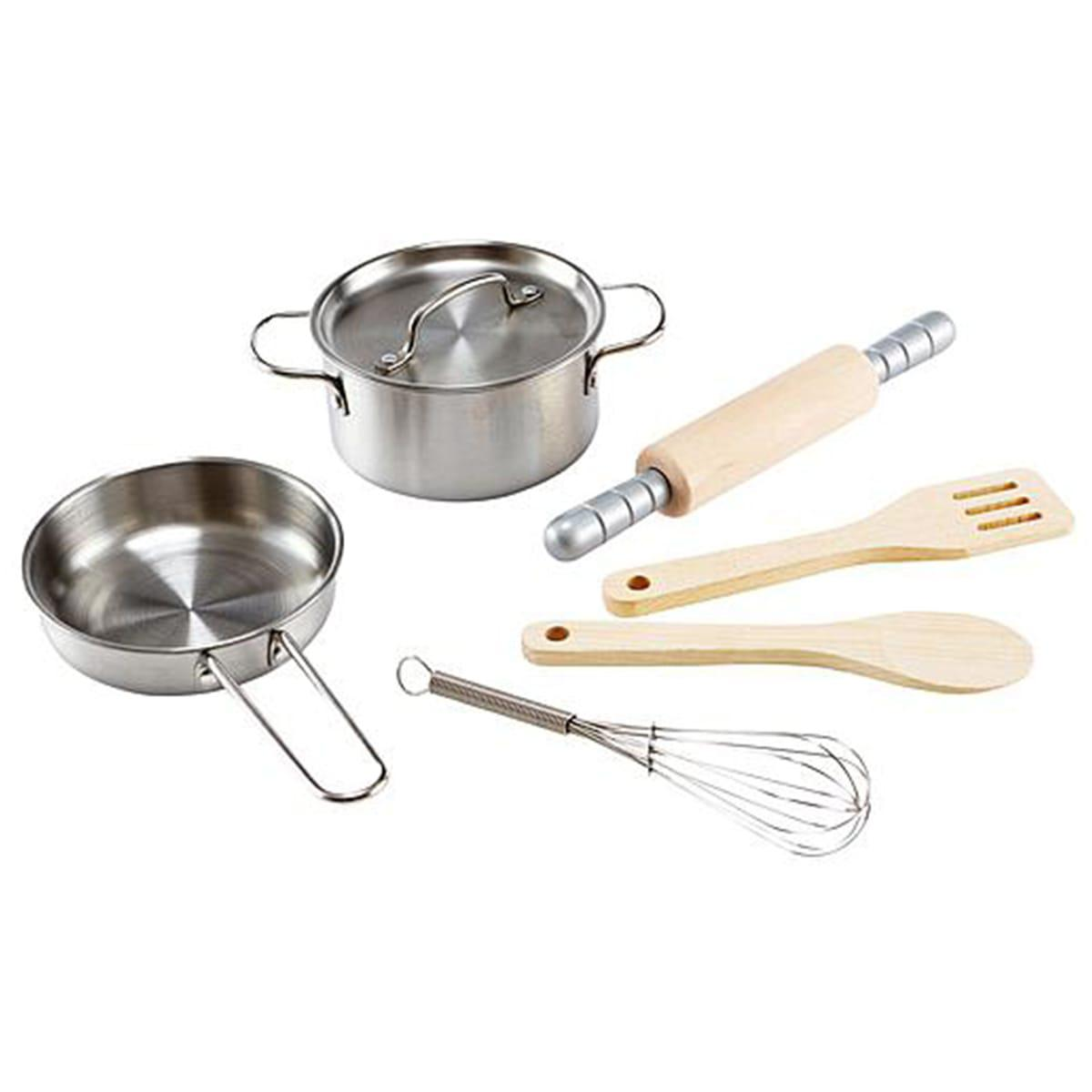 Utensilios cocina-7pzas CHEF COOKING Hape