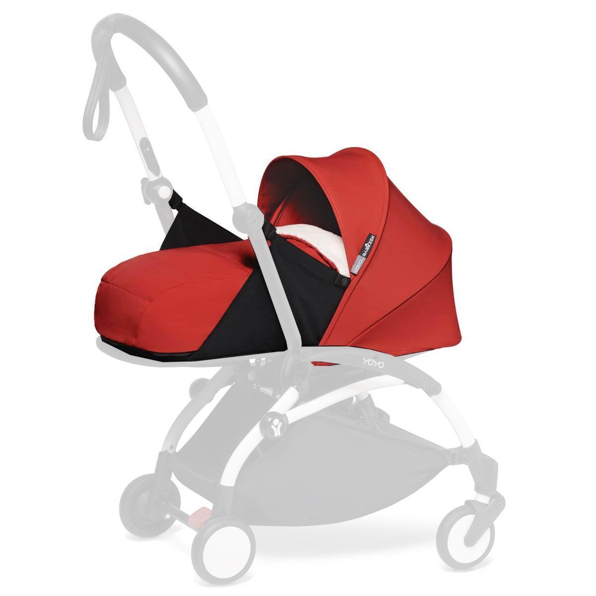 YOYO pack 0+ recién nacido BABYZEN rojo