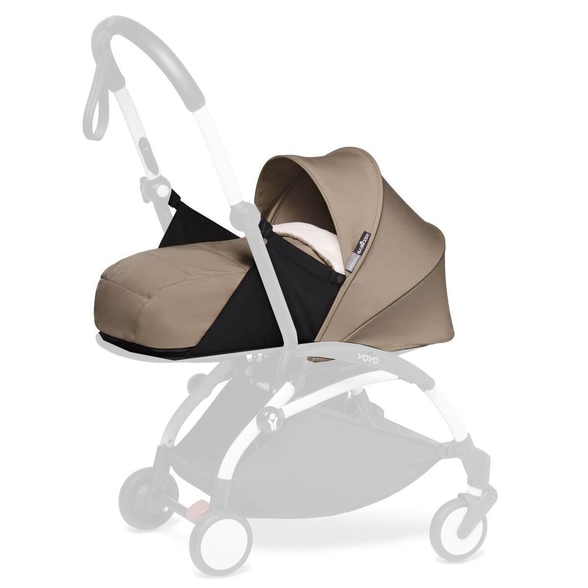 YOYO pack 0+ recién nacido BABYZEN taupe